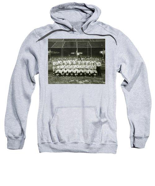 Babe Ruth Providence Grays Team Photo Sweatshirt