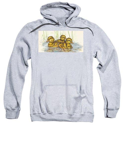 Baby Ducks For Ma Sweatshirt