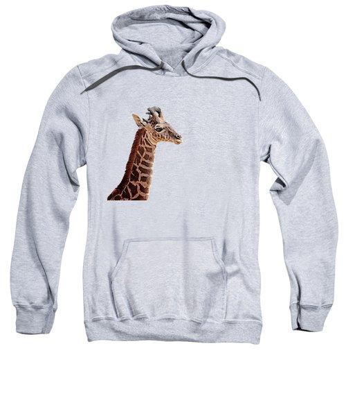 Baby Giraffe Painted Sweatshirt