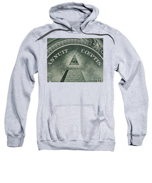 Back Of 1 Dollar Bill Sweatshirt