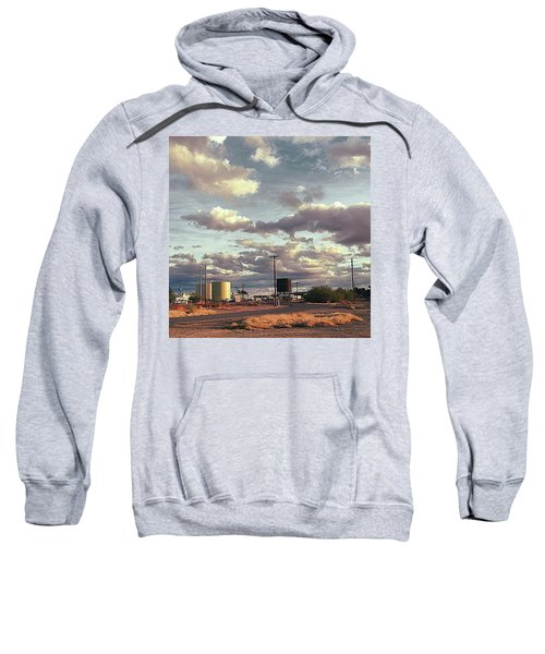 Back Side Of Water Tower, Arizona. Sweatshirt