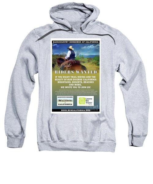 Backcountry Horsemen Join Us Poster Sweatshirt