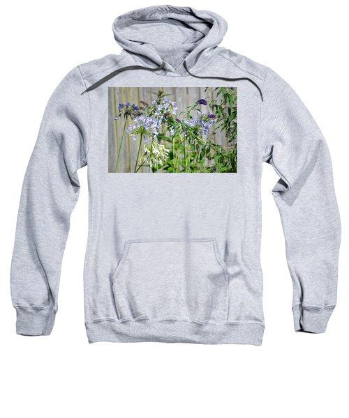 Backyard Flowers Sweatshirt