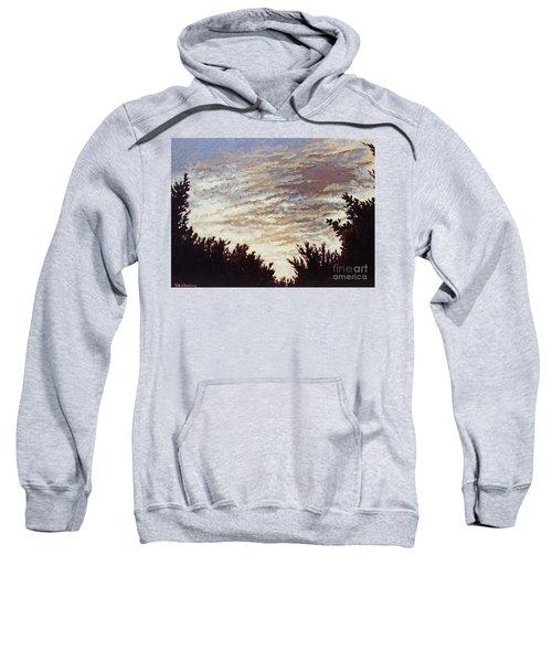 Backyard Sunset Sweatshirt