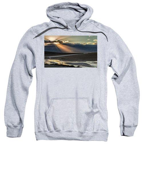 Bad Water Basin Death Valley National Park Sweatshirt