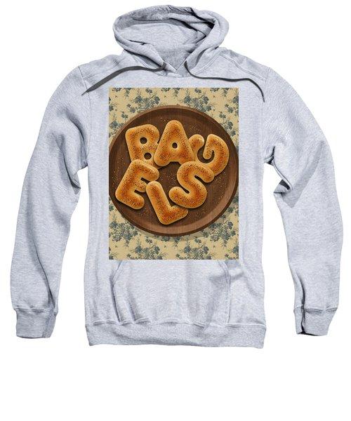 Bagels Sweatshirt by La Reve Design