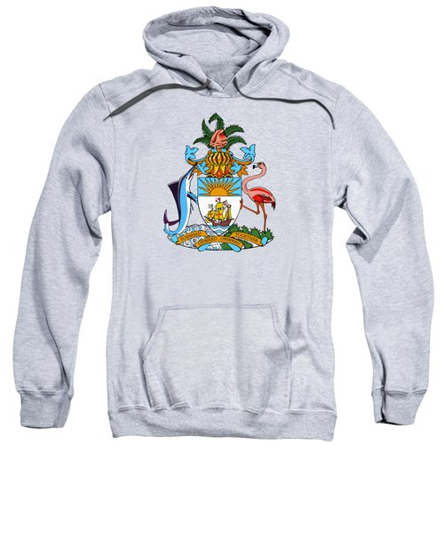 Bahamas Coat Of Arms Sweatshirt by Movie Poster Prints