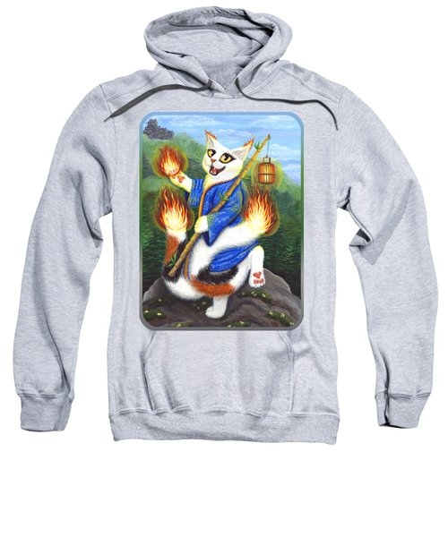 Bakeneko Nekomata - Japanese Monster Cat Sweatshirt