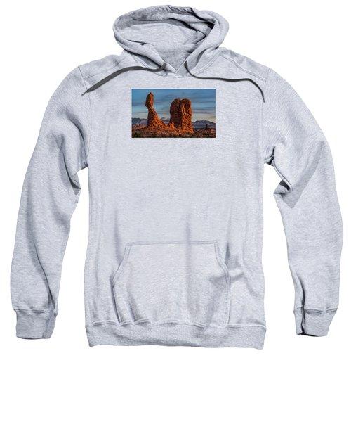 Balanced Rock Sunset Sweatshirt