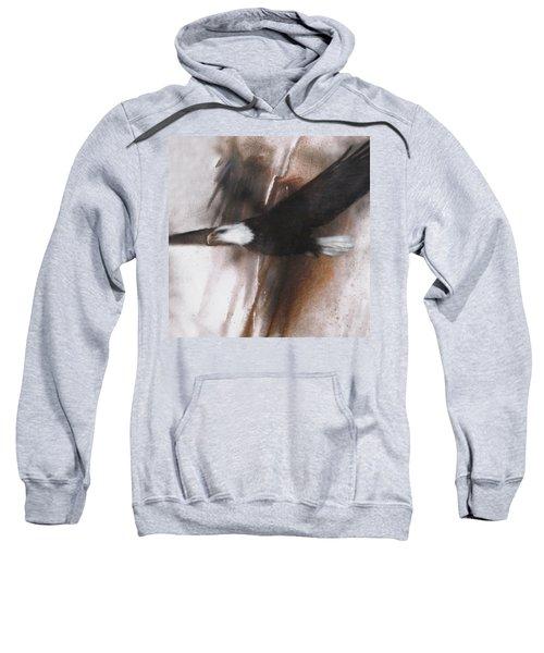 Bald Eagle Flight Sweatshirt