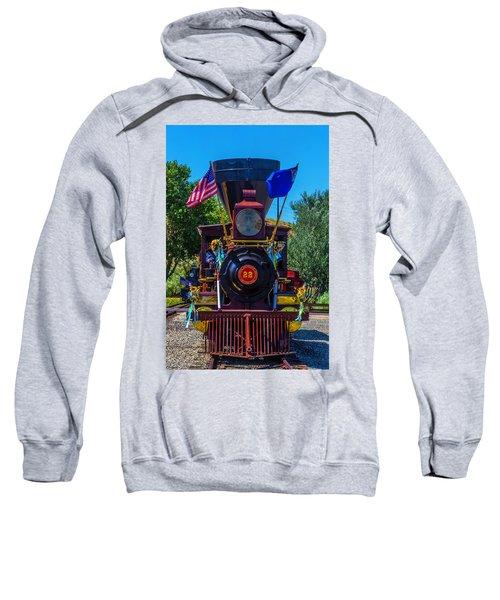 Baldwin Locomotive 22 Gingerbread Sweatshirt