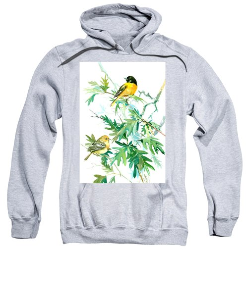Baltimore Orioles And Oak Tree Sweatshirt