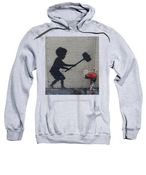 Banksy In New York Sweatshirt