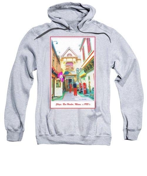 Bar Harbor Maine Shops  Sweatshirt