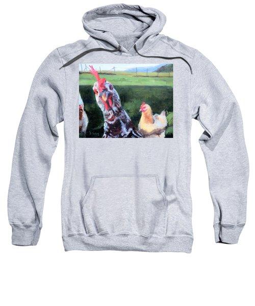 Barbara The Chicken Sweatshirt