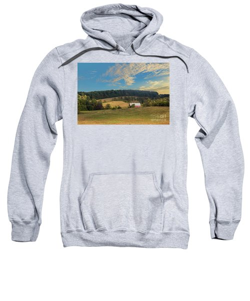 Barn In Field Sweatshirt