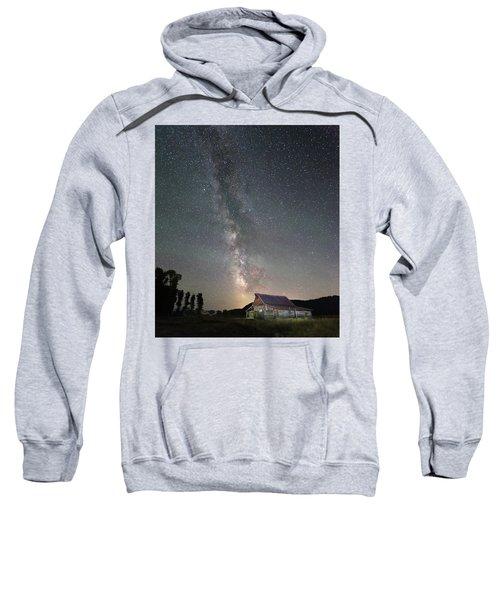 Barn On Mormon Row  Sweatshirt