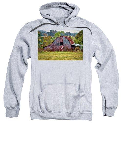 Barn On White Oak Road 2 Sweatshirt