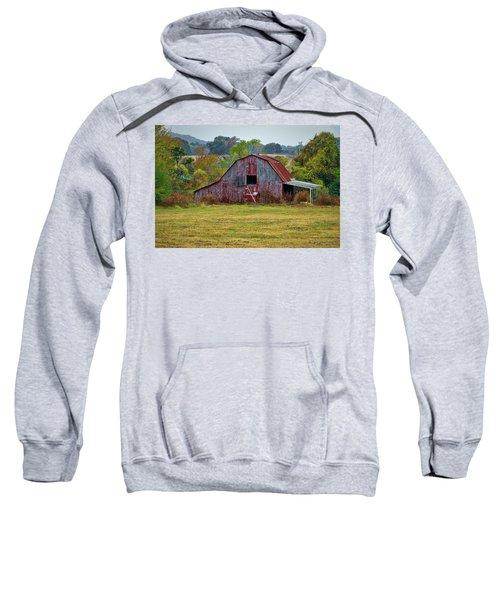 Barn On White Oak Road Sweatshirt