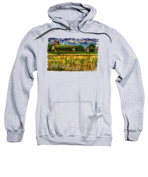 Barn With Green Roof Sweatshirt