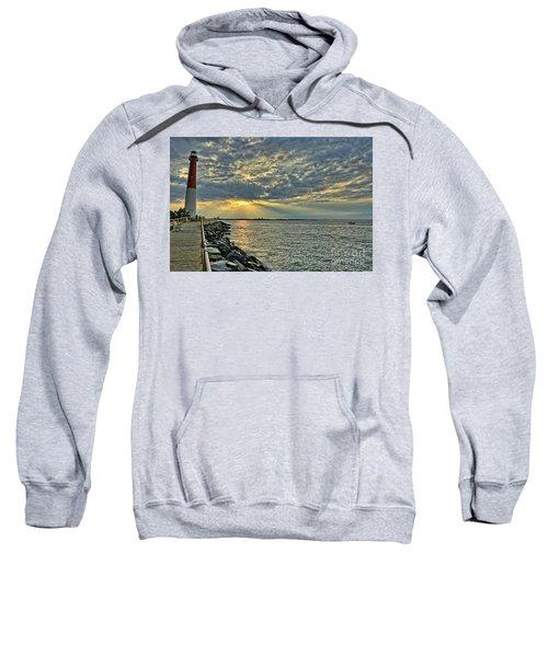 Barneget Lighthouse  New Jersey Sweatshirt