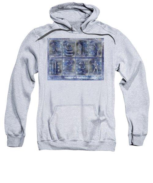 Baseball Patent History Blue Sweatshirt