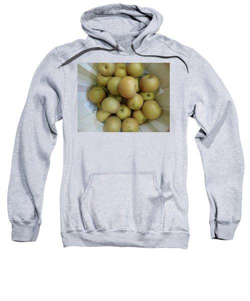 Basket Of Asian Pears Sweatshirt