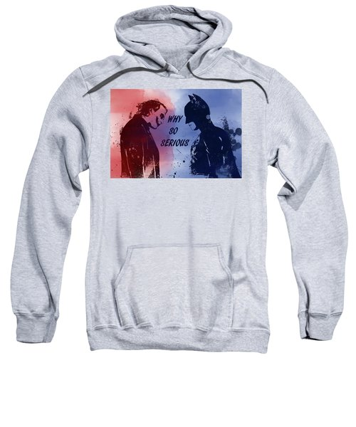 Batman And Joker Sweatshirt