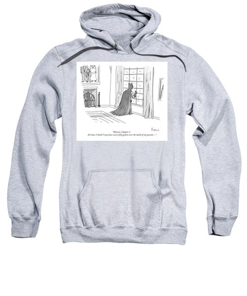 Batman Memoir Chapter 1 Sweatshirt