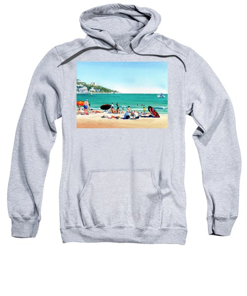Beach At Roses, Spain Sweatshirt