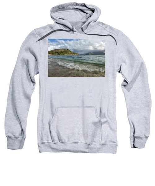 Beach At St. Kitts Sweatshirt