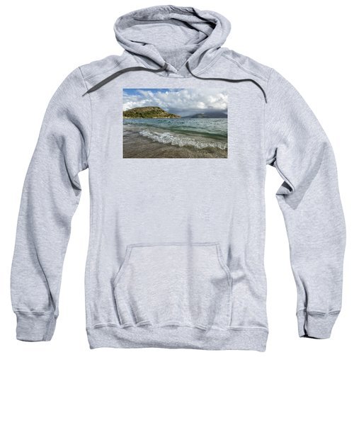 Beach At St. Kitts Sweatshirt