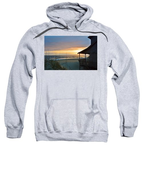 Beach Cottage Sunrise  Sweatshirt