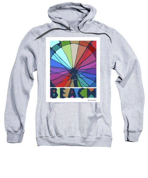 Beach Design By John Foster Dyess Sweatshirt