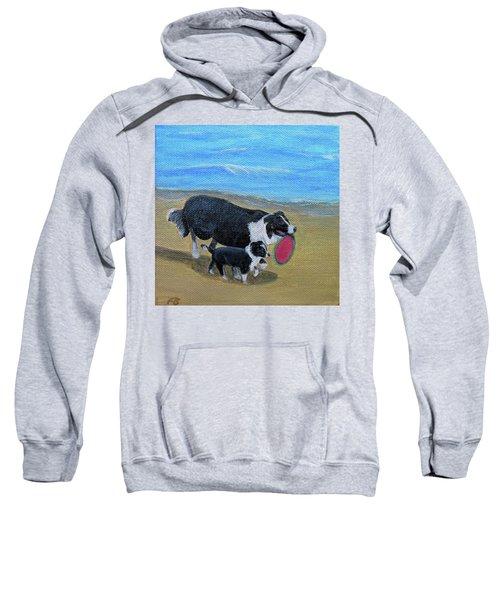 Beach Frisbee Sweatshirt