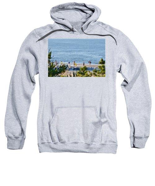Beach Fun At Cape Henlopen Sweatshirt
