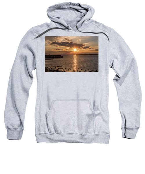 Beach Haven Nj Sunset January 2017 Sweatshirt