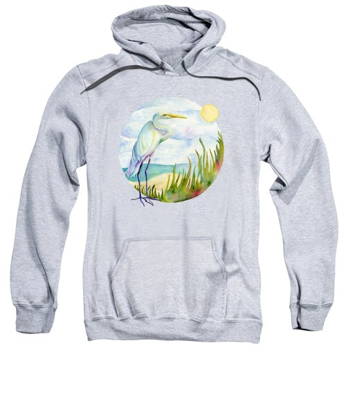 Beach Heron Sweatshirt