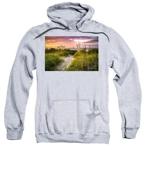 Beach Path Sunrise Sweatshirt