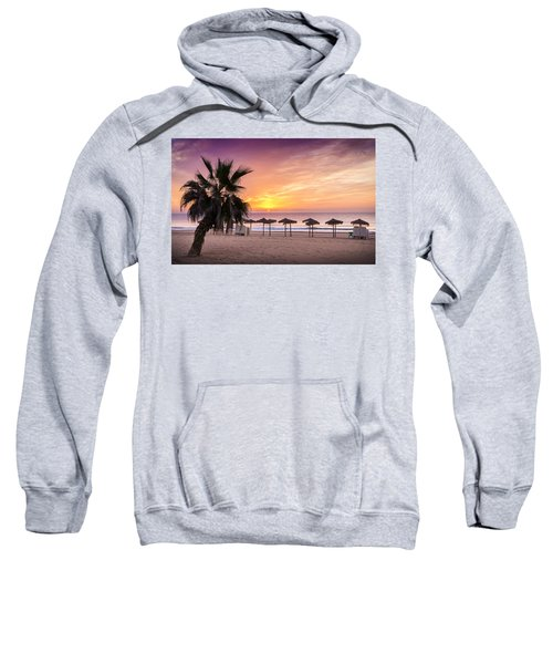 Beach Sunrise. Sweatshirt