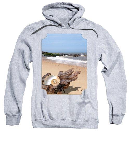 Beachcombing - Driftwood And Shells Sweatshirt