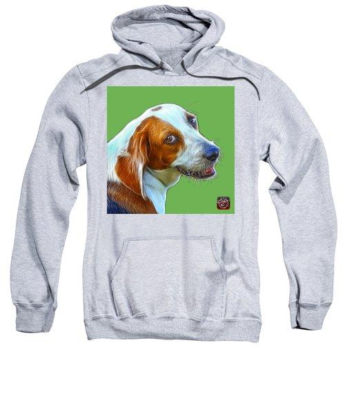 Beagle Dog Art- 6896 -wb Sweatshirt