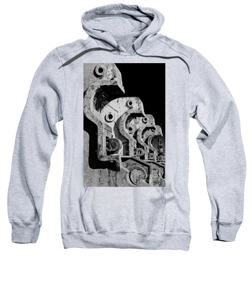 Sweatshirt featuring the photograph Beam Bender - Bw by Werner Padarin