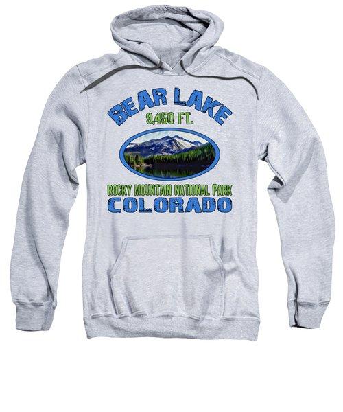 Bear Lake Rocky Mountain National Park Colorado Sweatshirt