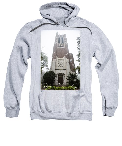 Beaumont Tower In The Fog  Sweatshirt