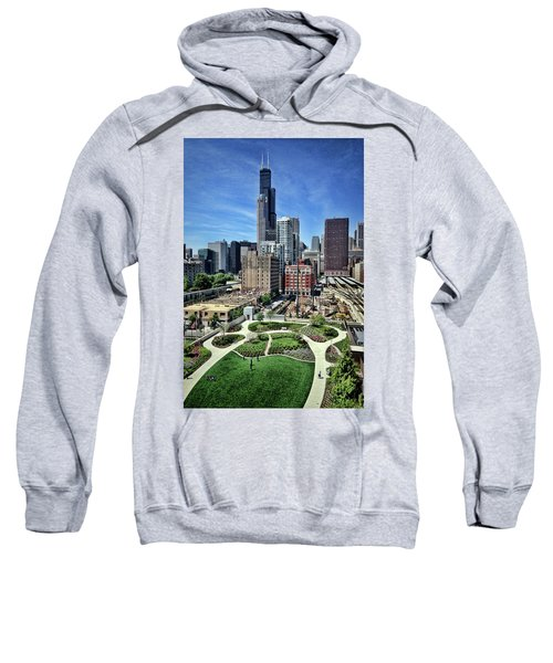 beautiful day and view of Chicago Sweatshirt