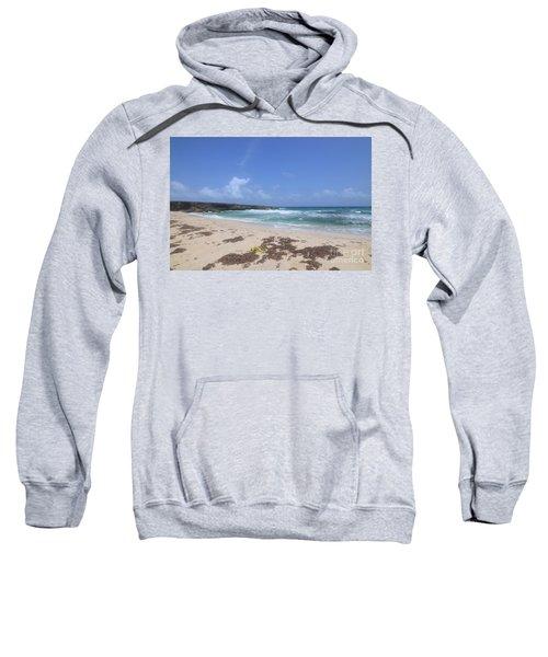 Beautiful Deserted Boca Keto Beach In Aruba Sweatshirt