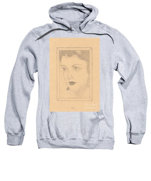 Beautiful Lady Face Sweatshirt