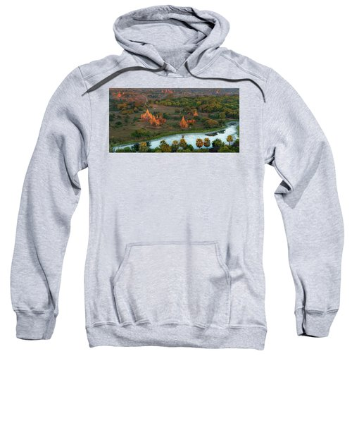 Beautiful Sunrise In Bagan Sweatshirt
