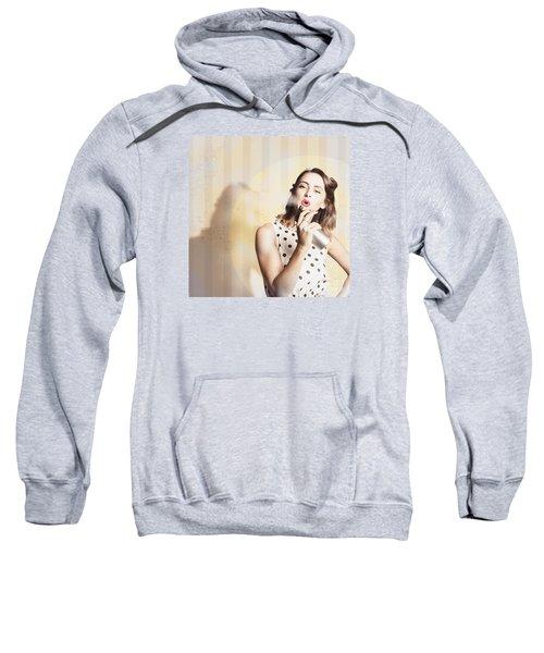 Beauty Parlour Pinup Sweatshirt